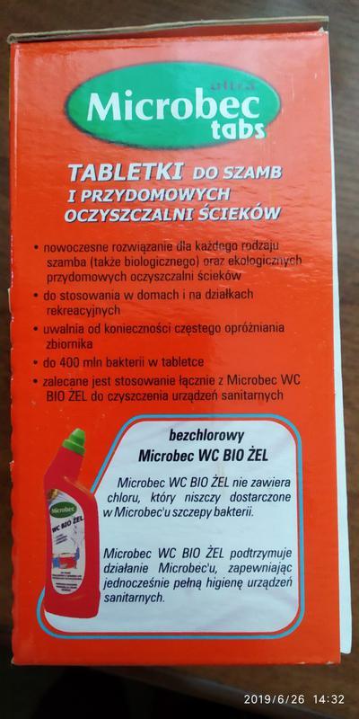 Microbec  средство для чистки септиков, унитазов, труб Польша - Фото 10