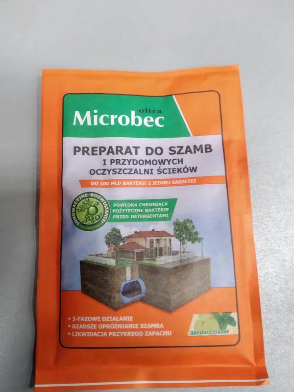 Microbec  средство для чистки септиков, унитазов, труб Польша - Фото 14
