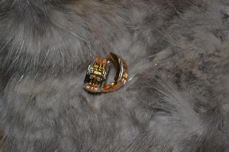 Ювелирные серьги-кольца
