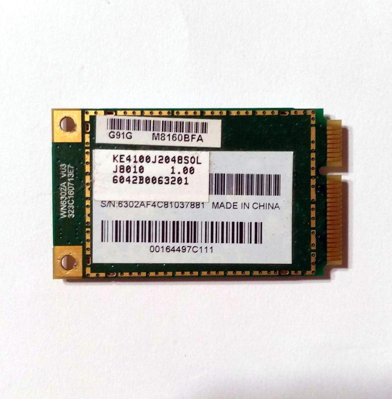 472 Wi-Fi Atheros AR5BXB63 AR5007EG 802.11 b/g Mini PCI-Expres...