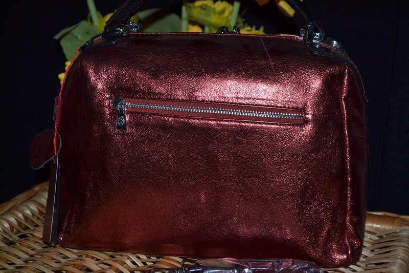 Кожаная сумка - Фото 2