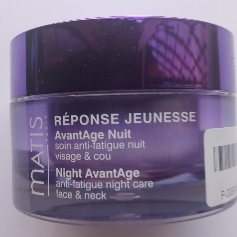 Matis крем для лица reponse jeunesse night avantage 50 мл - Фото 2