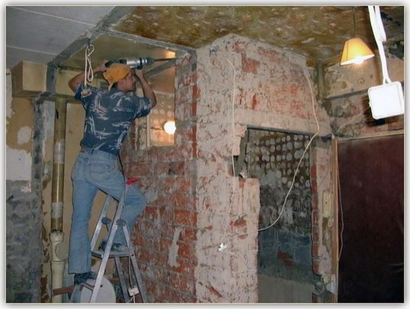 Демонтажные работы: Квартир/Офисов/ Домов