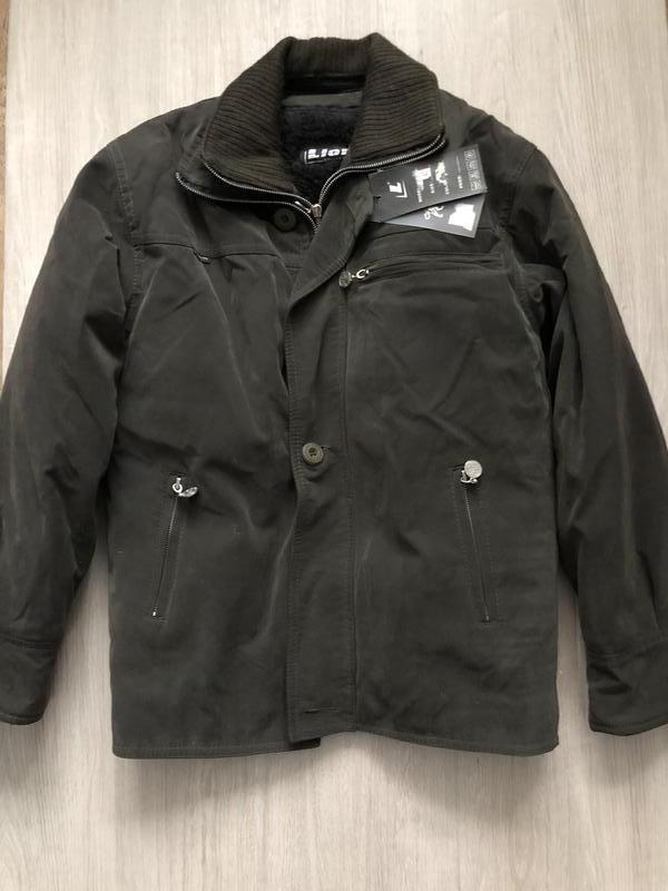 Куртка зимняя с отстегивающимся мехом размер 42