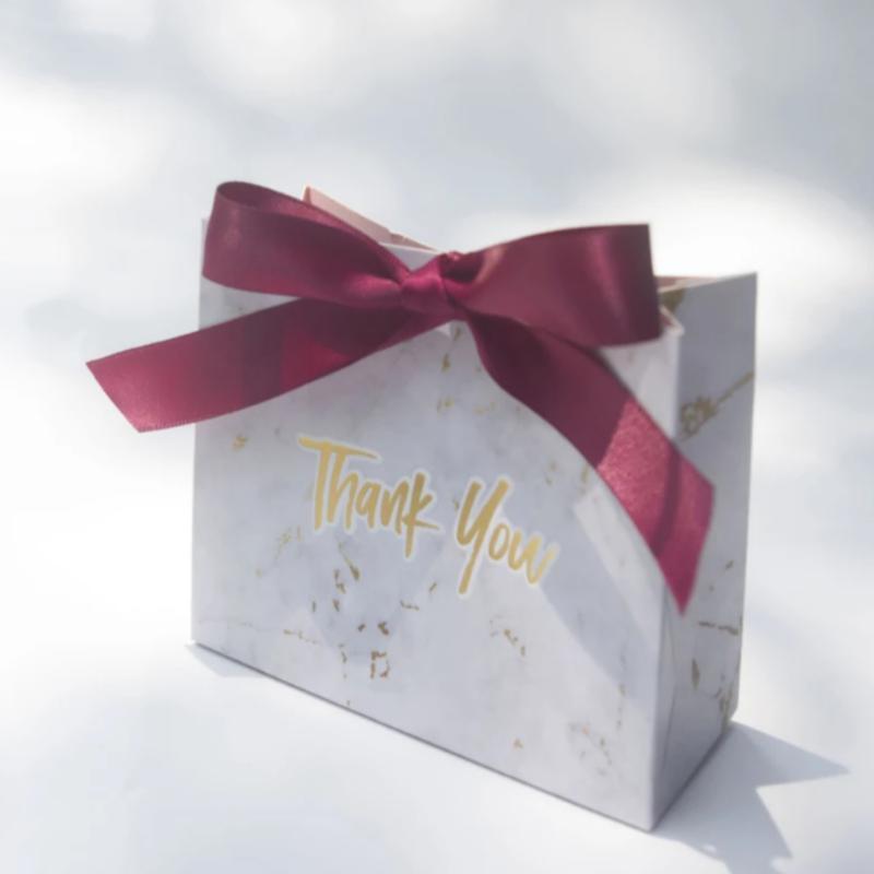Подарочный пакет/ коробочка для конфет на свадьбу