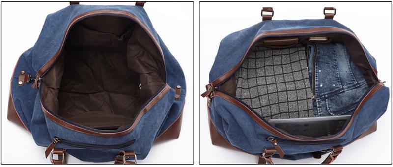 Стильная дорожная сумка через плечо. - Фото 3