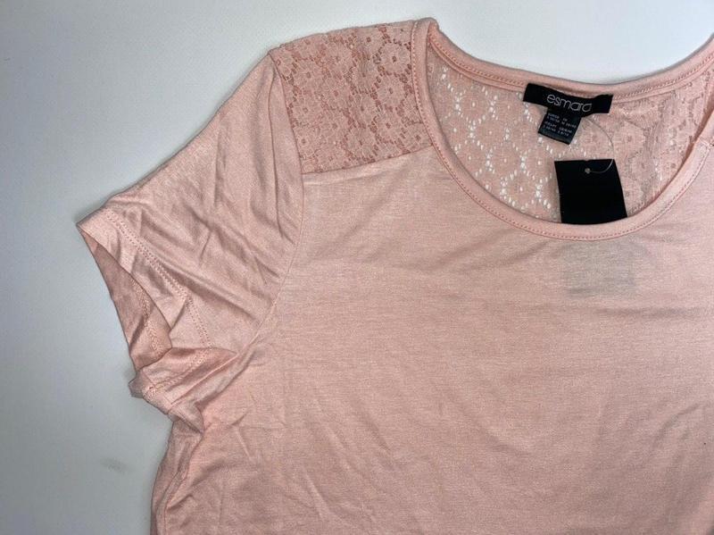 Легкая летняя футболка esmara розовая германия s 36 - 38 р. - Фото 2