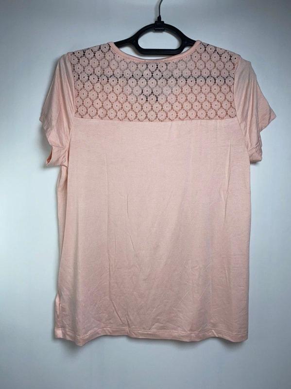 Легкая летняя футболка esmara розовая германия s 36 - 38 р. - Фото 3