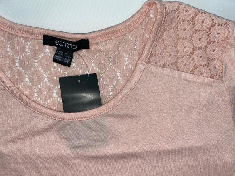 Легкая летняя футболка esmara розовая германия s 36 - 38 р. - Фото 4