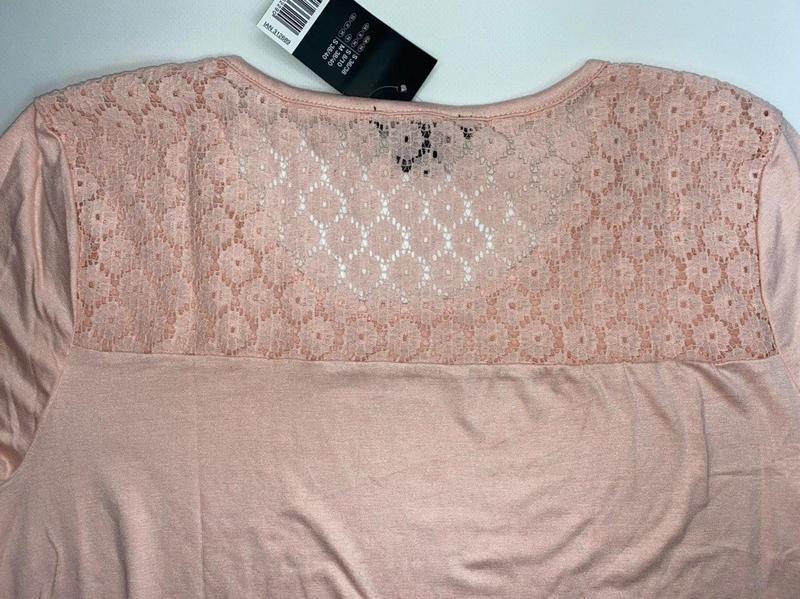 Легкая летняя футболка esmara розовая германия s 36 - 38 р. - Фото 5