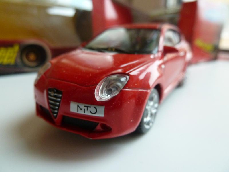Alfa Mito Welly Масштаб 1:43