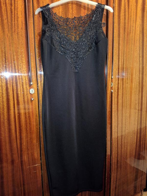 !продам женское чёрное платье сарафан на бретелях