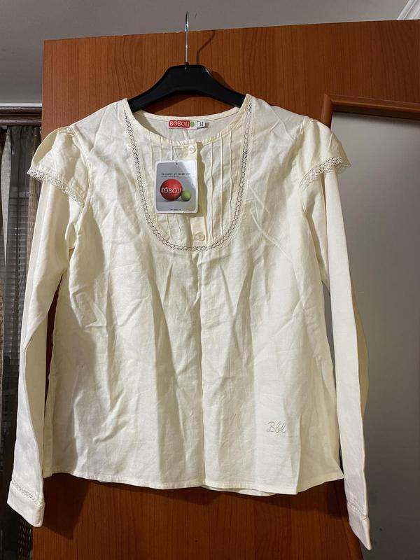 Красивая нежная блуза для девочки boboli