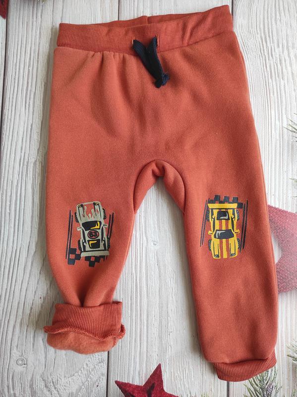Утепленные штаны для мальчика pepco размер 92