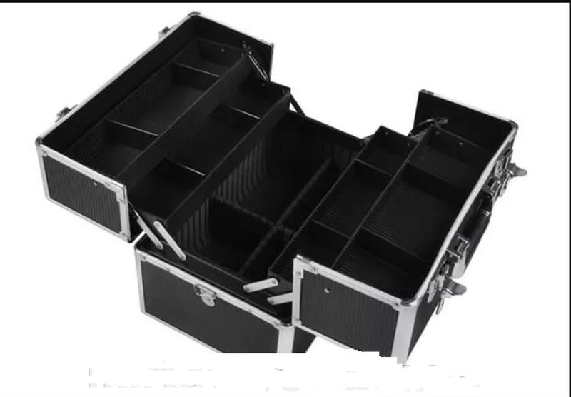 Бьюти-кейс бьюти сумка чемодан для косметики органайзер сумка сак - Фото 2