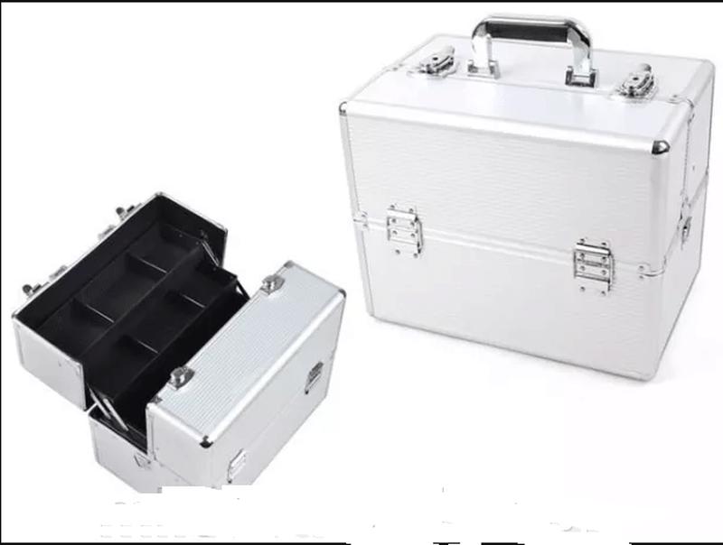 Бьюти-кейс бьюти сумка чемодан для косметики органайзер сумка сак - Фото 4