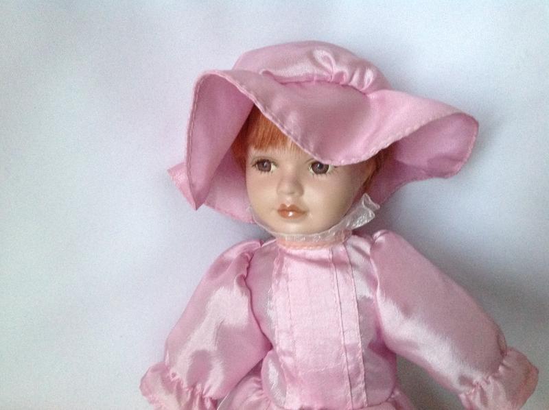 Статуэтка кукла фарфор - Фото 2